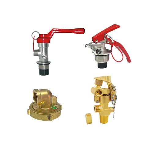 FIRE EXTINGUISHER VALVES